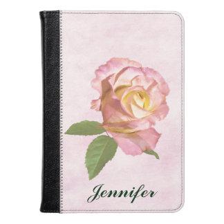 Peace Rose, Customizable Name Kindle Case