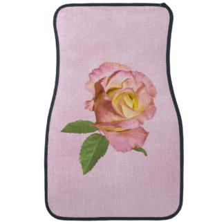 Peace Rose Customizable Floor Mat