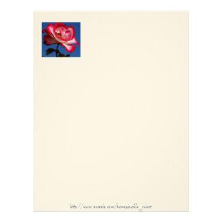 Peace Rose Letterhead