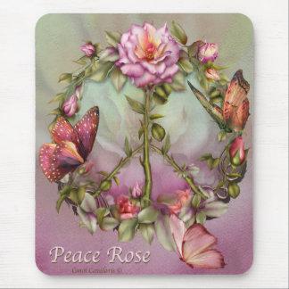 Peace Rose Mousepad