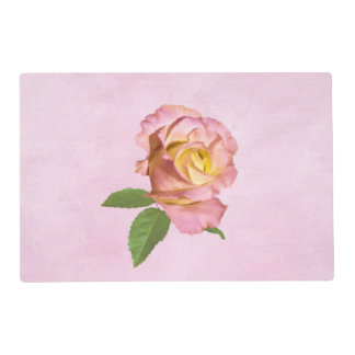 Peace Rose Laminated Placemat