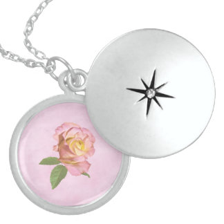 Peace Rose Sterling Silver Necklace