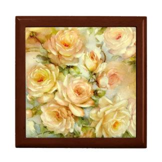 Peace Roses Jewelry Box