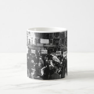 Peace rumor, New York.  Crowd at Times_War Image Coffee Mug