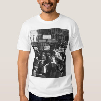 Peace rumor, New York.  Crowd at Times_War Image T Shirt
