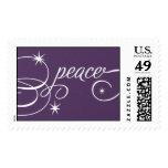 Peace Script - Majestic Postage Stamp