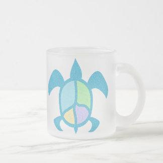 Peace Sea Turtle Mugs