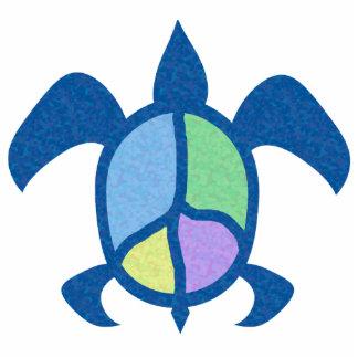 Peace Sea Turtle Photo Sculpture