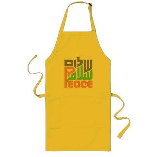 Peace Shalom Salaam apron