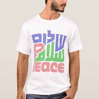 Peace Shalom Salaam mens shirt