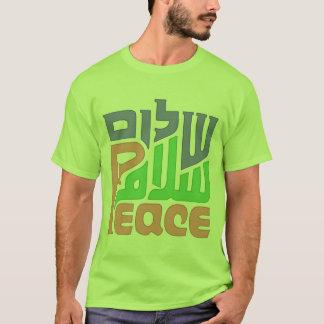 Peace Shalom Salam mens shirt