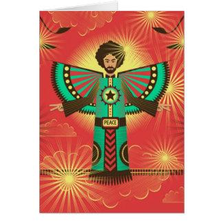 Peace Shine greeting card