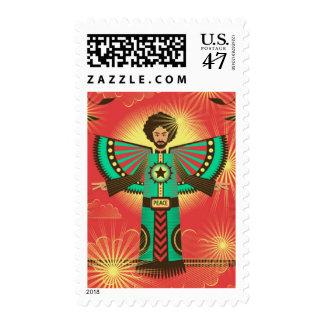 Peace Shine stamp