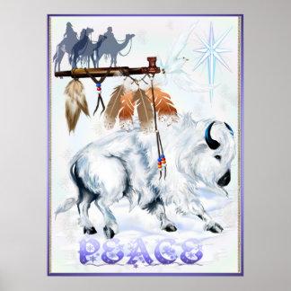 PEACE Shirt Poster