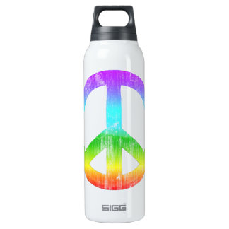 Peace 16 Oz Insulated SIGG Thermos Water Bottle