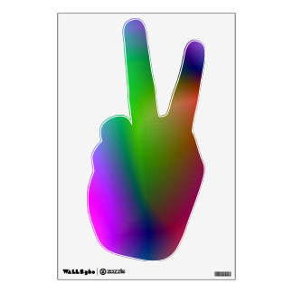 Peace Sign 1 Wall Skin