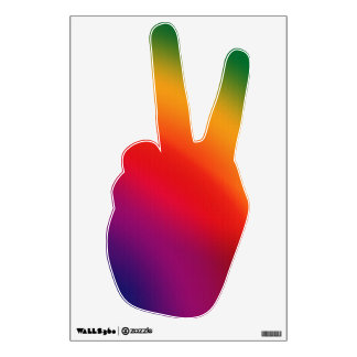 Peace Sign 2 Wall Decal