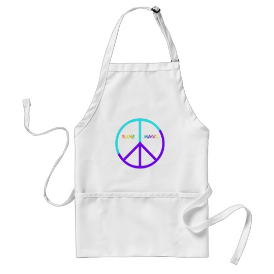 Peace Sign Adult Apron