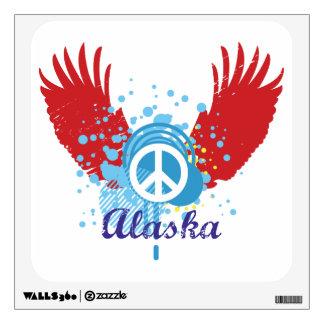 Peace Sign - Alaska Wall Sticker
