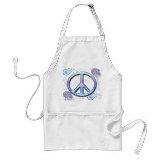 Peace Sign Adult Apron