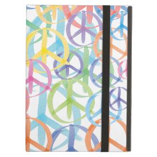 Peace Sign Art iPad Air Covers