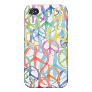 Peace Sign Art iPhone 4/4S Cover