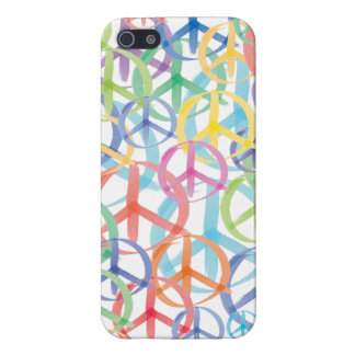 Peace Sign Art iPhone 5 Cover
