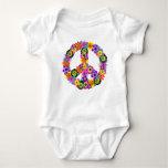 Peace Sign Baby Bodysuit