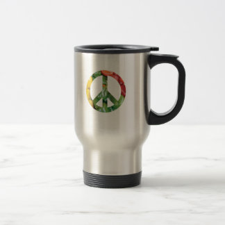 Peace Sign Bell Peppers Travel Mug