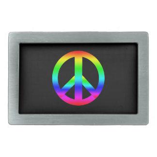 Peace Sign Belt Buckle
