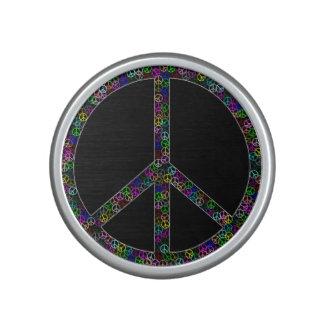 Peace Sign Bluetooth Speaker