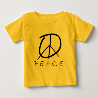 Peace Sign: Bud Hand Script T Shirts