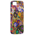 Peace Sign Buttons Collage iPhone 5 Case