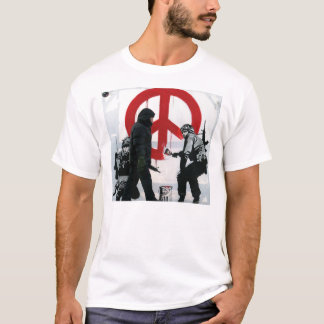 Peace sign by military T-Shirt
