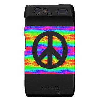 Peace Sign Droid RAZR Covers
