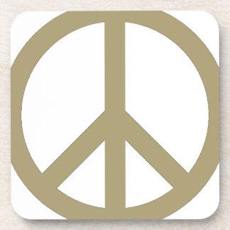 Peace Sign Coaster
