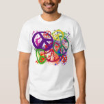 PEACE SIGN COLLAGE T-SHIRT