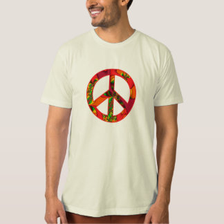 Peace Sign Color Me Bright #2 Tshirt