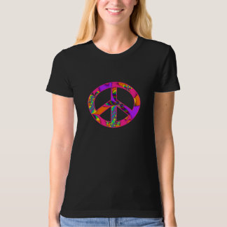 Peace Sign Color Me Bright Tshirt