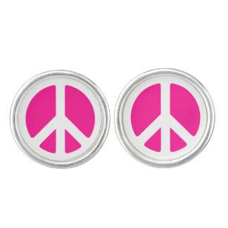 Peace Sign Cufflinks