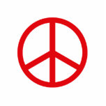 Peace Sign Cut Out