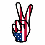 Peace Sign Cut Outs