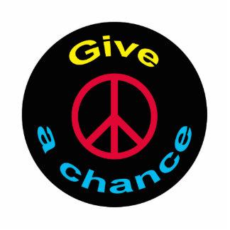 Peace Sign Cutout