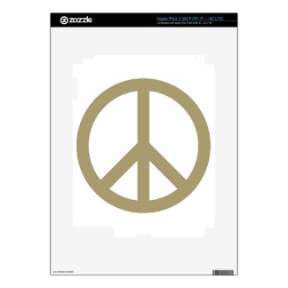 Peace Sign Decals For iPad 3