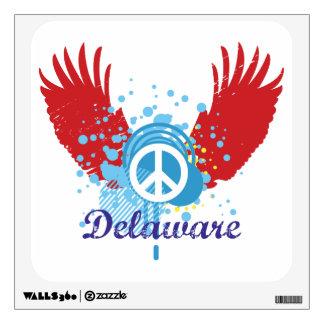 Peace Sign - Delaware Wall Sticker