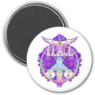Peace Sign Design Magnet