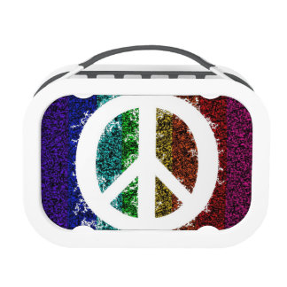Peace Sign Electric Lunch Box