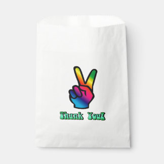Peace Sign Favor Bag