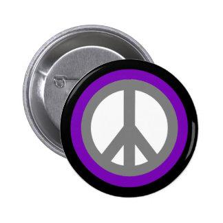 Peace Sign Flair Button