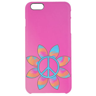 Peace Sign Flower Uncommon Clearly™ Deflector iPhone 6 Plus Case